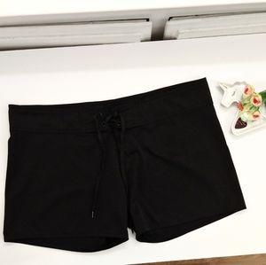Burnside Women's Black Board Shorts / Swim Trunks